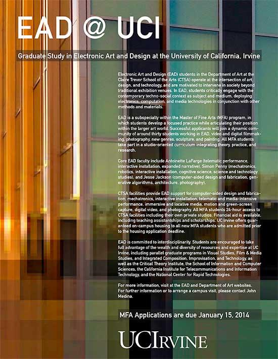 uc irvine creative writing graduate program