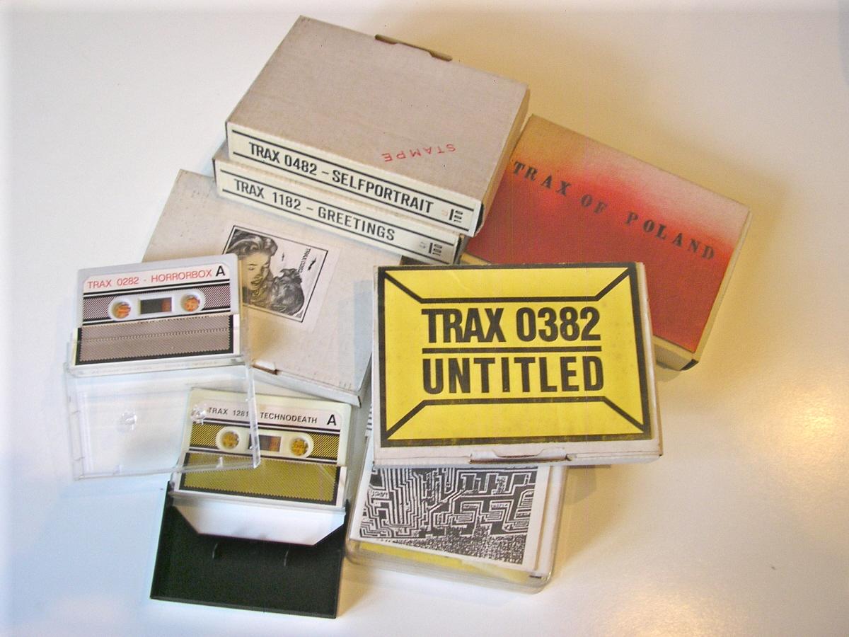 TRAX - various cassettes.JPG