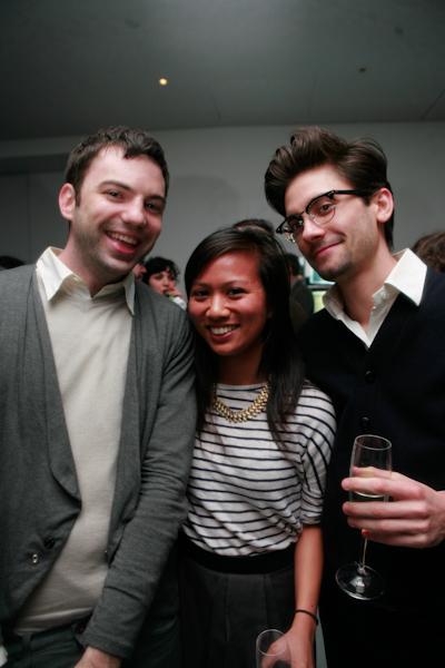 Rhizome Staff Writer Brian Droitcour Curator Lumi Tan And Triple Canopys Peter Russo