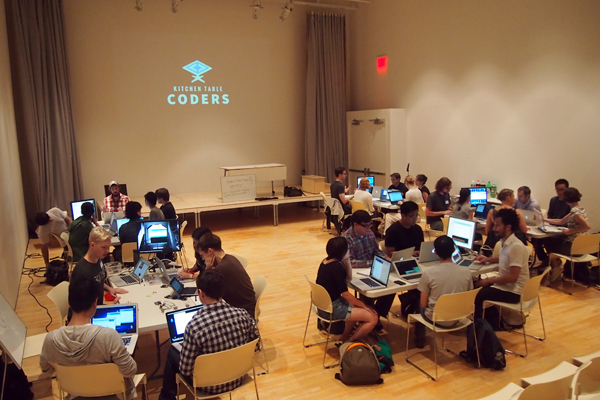 kitchen table coders presents: learn to code from an artist