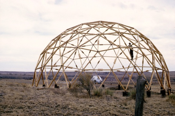 Under the dome architectures of networked engagement from - The geodesic dome in connecticut call of earth ...